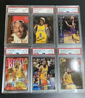 (6) 1996-1997 Kobe Bryant PSA 8 Rookie Card Lot!! 6 Graded RC cards!🔥📈 👀