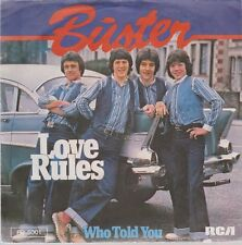 "7"" Buster Love Rules / Who Told You 70`s RCA"