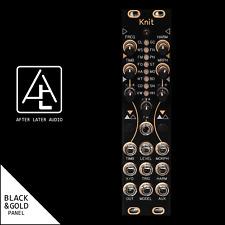 Antumbra Knit - Mutable Instruments Micro Plaits - Eurorack Module - Black/Gold