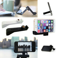 Black iPhone 8 Plus 7 Plus 6s 6 Tripod Mount Holder Stand Vertical Sidekic Glif