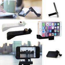 Black iPhone 7 Plus 6s Plus 6 Tripod Mount Holder & Stand Vertical Sidekic Glif