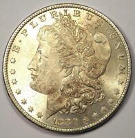 1880-O Morgan Silver Dollar $1 Coin - Nice BU MS UNC - Nice Luster!