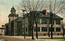 New Jersey, NJ, North Plainfield, Somerset School Postcard