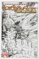 Lords of Avalon: Sword of Darkness #1 (Apr 2008, Marvel) [Sketch Variant] va
