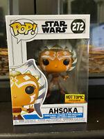 Funko POP! Star Wars Ahsoka #272 Hot Topic Exclusive with protector