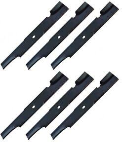 "Set of 6 Oregon Blades for 61"" Cut Replaces Ferris 5020842, 5020842S"