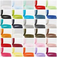 Stephanoise Plain Jersey Stretch Bias- 20mm Wide Sold In 31 Colours Free Postage
