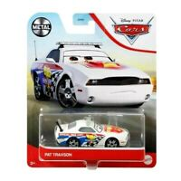 Pixar Cars PAT TRAXSON Metal Car Mattel Disney DVX29 RARE Mattel NEW!
