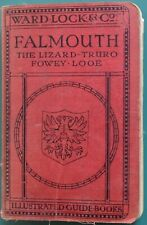 Ward Lock Red Guide - Falmouth 8th edition revised Vintage Illustrated Guidebook