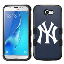 for Samsung Galaxy J7 Prime / Sky Pro Hybrid Impact Case New York Yankees Navy