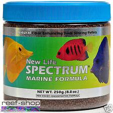 Fish Food Pellets Spectrum New Life Marine Fish Formula 250g FREE USA SHIPPING