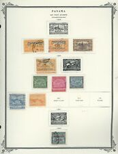 PANAMA Scott Album Page Lot #17 - SEE SCAN - $$$