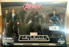 MARVEL LEGENDS AVENGERS AGENT COULSON NICK FURY MARIA HILL FIGURE EXCLUSIVE 3-PK