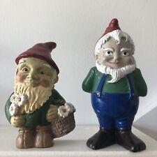 Quirk Gnome figurine,Becker & Mayer & 1 unmarked