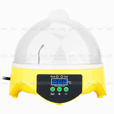 7 Chicken Egg Duck Bird Poultry Incubator Automatic Digital Turning Hatching Kit