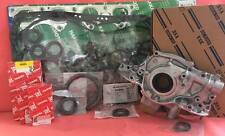 Full Gasket Kit +Japan Bearings+ Oil Pump+Genuin Oil Seals Civic D16Y7 Y8 96-00