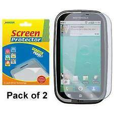 AMZER Super Clear Screen Protector w/ Cleaning Cloth for Motorola BRAVO MB520
