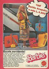X1054 BARBIE - Acapulco - Mattel - Pubblicità 1979 - Advertising