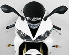 Triumph stickers for windshield decals motorcycle embleme White