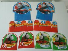 Thomas The Train Tank Birthday Table Decorations and Crowns