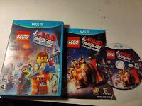 Nintendo Wii U Lego The Lego Movie Videogame Game CIB