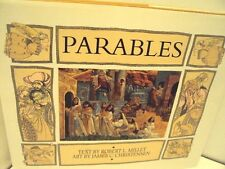 Parables by Robert Millet & James Christensen (1999, Hardcover) LDS, MORMON