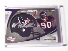 2006 Sweet Spot Rookie Helmet Autograph Mario Williams /499 Texans NC State Auto
