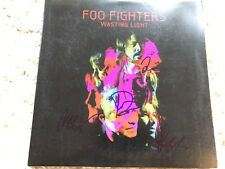 FOO FIGHTERS SIGNED WASTING LIGHT LP ALBUM AUTOGRAPH COA DAVE GROHL VIDEO PROOF