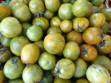 15 graines de tomates cerises green zebra - méthode BIO - rare seeds
