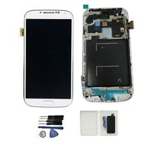 DISPLAY LCD +TOUCH SCREEN + FRAME per SAMSUNG GALAXY S4 i9505 SCHERMO BIANCO