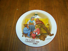 The Csatari Grandparent Plate 1980 00006000  The Bedtime Story by Knowles #0964Ec Display