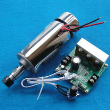 NEW Air Cooled Spindle Motor Engraving Milling 48V w MACH3 Speed Controlle 400W