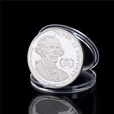 American Skull Ghost Money Silver Plated Commemorative Coin Collection Gift GN