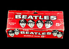 1964 Topps Beatles Series One Display Box 5x7 color photo