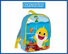 Zaino zainetto sacca borsa scuola per bambini da bimbi asilo materna Baby Shark