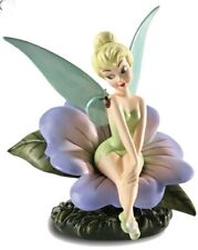 """Wdcc Tinker Bell """"Enchanting Encounter"""" Peter Pan Limited Edition Figure Rare"""