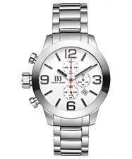 Danish Design IQ62Q916 48mm Chronograph Stainless Steel Quartz Sport Men's Watch