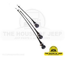 3-Piece CJ Cable Kit (Heater, Temp, Air) for CJ5, CJ7, CJ8 Scrambler 5463657K