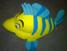"Juguete suave-Disney Flounder peces 11"" - LITTLE MERMAID-MATTEL"