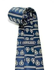 NEW LANDS' END TIE Blue 100% Silk Men's Neck Tie