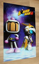 1997 Bomberman Bomber Man 64 / DISNEY'S HERCULES Nintendo small Poster 42x28cm