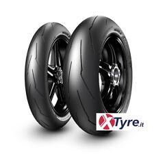 Pirelli Supercorsa V3 Coppia 120/70-17 58W SC1 + 180/60-17 75W SC2 DOT NUOVO