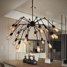 Adjustable Spyder Chandelier Vintage Edison Light Ceiling Pendant Light Lamp