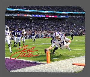 Josh Allen Buffalo Bills Facsimile Autographed Mouse Pad Item#6666