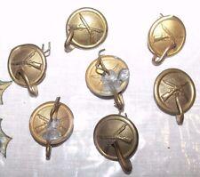 Original  Infantry  Button Spanam/Indian wars for 1881 shako helmet with hook