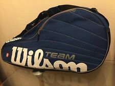 Team Wilson Tennis Racket Case Blue New With Tags