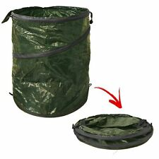 Large Heavy Duty Pop Up Garden Bin Waste Rubbish Leaves Sack Bag Strong Handles