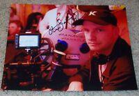 STEVEN SODERBERGH SIGNED AUTOGRAPH OCEAN'S ELEVEN 8x10 PHOTO w/VIDEO PROOF