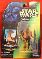 Star Wars Power of the Force POTF Green Card Momaw Nadon .01