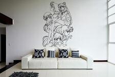Wall Vinyl Sticker Decal Anime Manga Sailor Moon Girl VY188